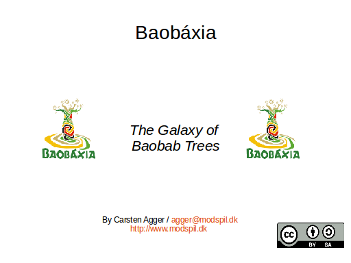 Baobáxia - the Galaxy of Baobab Trees